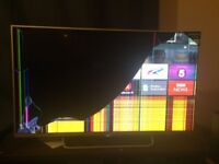 Sony Bravia Android TV with Broken Screen KDL-43W756C, COLLECTION ONLY