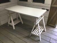 IKEA A frame adjustable height table