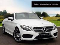 Mercedes-Benz C Class C 200 AMG LINE (white) 2017-09-29