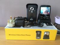 wireless video door entry system