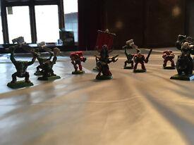Warhammer - 3 Cases full of figures