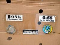 VW SPLIT SCREEN SMALL REAR WINDOW GLASS.