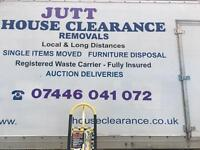 AFFORDABLE PRICE HOUSE REMOVALS MAN AND VAN CLEARANCE RUBBISH WASTE RECYCLING