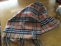 Burberry scarf for sale