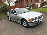 R BMW 323I 2.5 E36 AUTOMATIC ** 14 SERVICE STAMPS