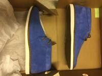 Fred Perry chucka boots size 10 new in box