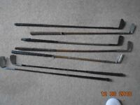 Set of Vintage Golf Clubs for Sale