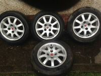 Peugoet 406 15in alloy wheels plus studs + locking nut, £80 ono. plus tow bar 406 £30 ono