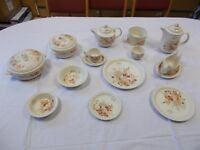 Poole Pottery Summer glory dinner service 51 Pieces