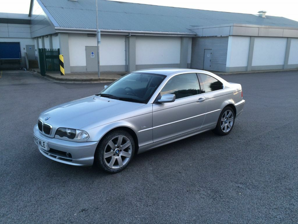 2002 bmw 320ci e46 2 door coupe very low mileage 10 months mot silver in kirkby. Black Bedroom Furniture Sets. Home Design Ideas