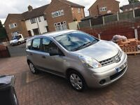 Nissan note 1.4 petrol. 08 plate
