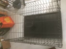 Collapsable Pet training kennel