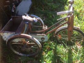 Raleigh Winkie 1950s trike