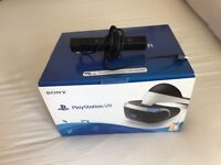 PS4 vr with CAMERA, boxed, excellent condition. Hardly used. £160 NO OFFERS. CAN DELIVER