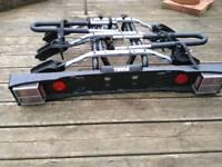 Towbar mounted 3 cycle rack