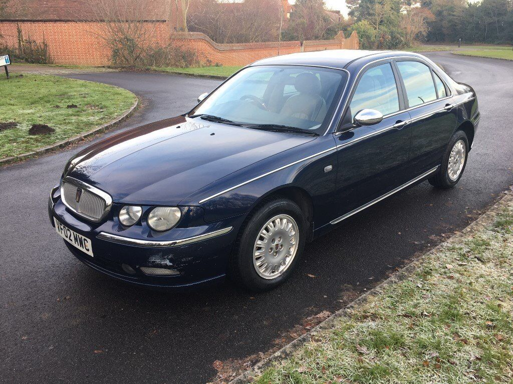 rover 75 automatic diesel connoisser leather heated. Black Bedroom Furniture Sets. Home Design Ideas