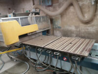 Masterwood Project 327 10' x 4' pod and rail cnc router for sale.