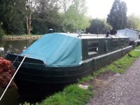42ft narrowboat project