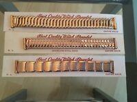 Retro Rose Gold Watch Bracelet 18mm
