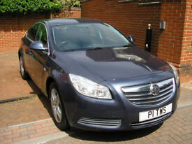 2011 Vauxhall Insignia 2.0 CDTi 16v Exclusiv 5dr Auto Met Blue/Black int, A/C, Alloys, 1 Owner, FSH