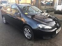 IMMACULATE CONDITION 2010 VW GOLF ESTATE 2.0 TDI SE,FULL SERVICE HISTORY,DRIVES SUPERB,2KEYS,2OWNERS