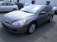 2007 Honda Accord EXV6|Leather|Sunroof|Auto|