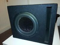 InPhase 10 inch 1200 watt subwoofer