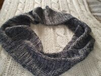 Two scarfs onenext circular the other bhs straight new.