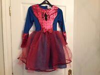 SPIDERGIRL Costume Age 9-10yrs ****Brand NEW****