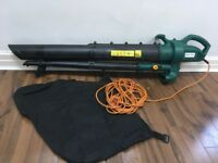Leaf blower and vacuum for garden