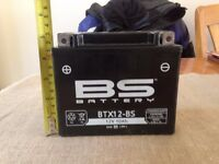 Brand new, unused, motorcycle battery - BTX12-BS 12V 10Ah. Collection only. Kings Heath.