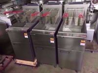 CHIPS NEW TWIN TANK FASTFOOD COMMERCIAL FRYER MACHINE CATERING RESTAURANT KITCHEN PUB SHOP BAR