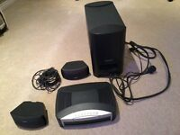 Bose 321 dvd subwoofer and speaker system