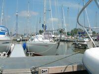 Yacht Hustler 25.5 Holman & Pye Design -Sailing Boat