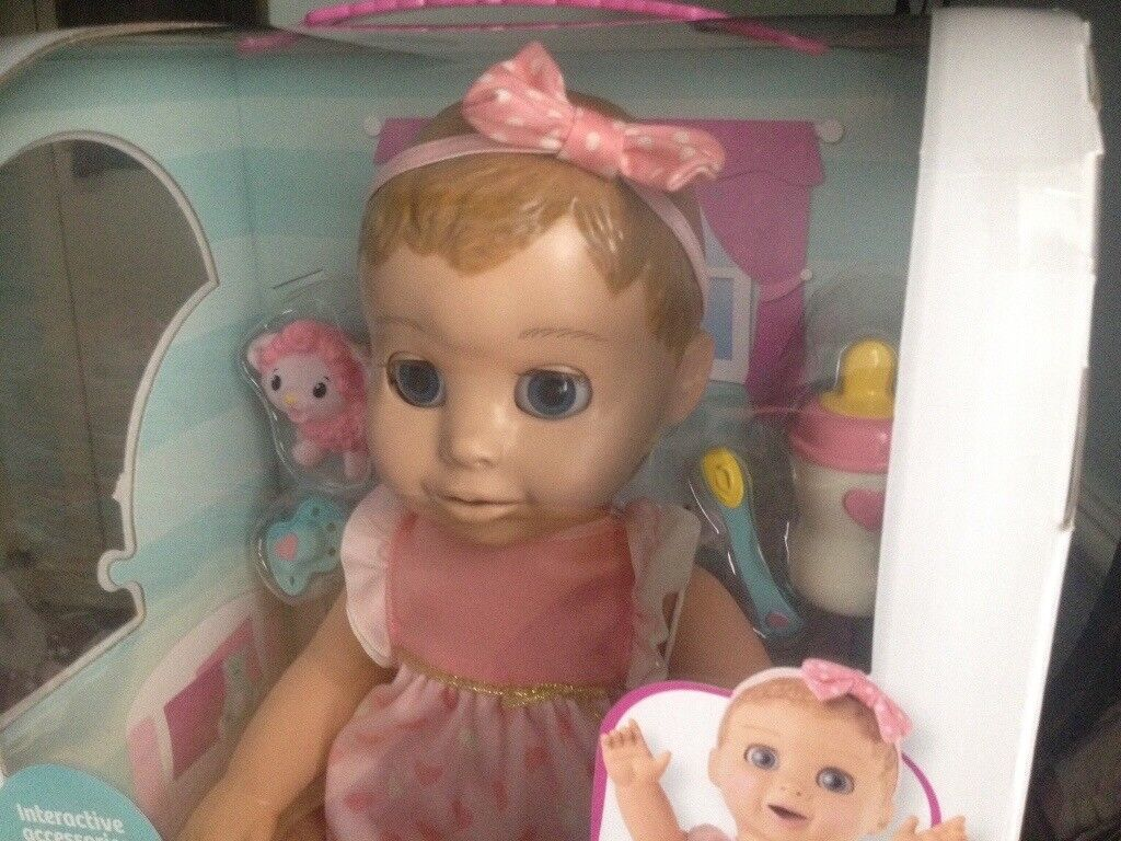 Luvabella blonde interactive doll £125