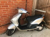 Piaggio fly 50cc 2006 two stroke engine 12 months mot scooter moped