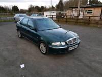 Rover 45 Diesel 5DR 2004 long mot no advisory on mot certificate 1 former keeper