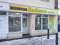 Sunbed and beauty shop Forsale