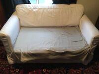 White Ikea Sofa Bed