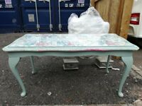 French vintage style coffee table