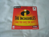 INCREDIBLES AND ROBOTS PC CD ROMS FROM 2004