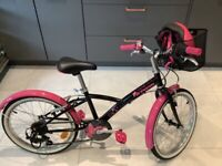 Very nearly new! Decathalon child's bike & matching helmet £115 (RRP £177) Great Present!