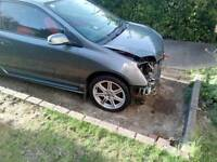 Civic type r facelift damaged repairable FSH Low miles
