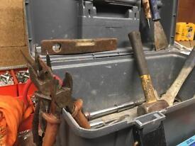 Mixed toolbox of tools