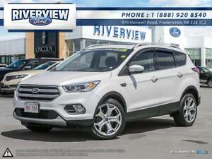 2017 Ford Escape Titanium - $118 Weekly for 72 Months at 1.9%!!!