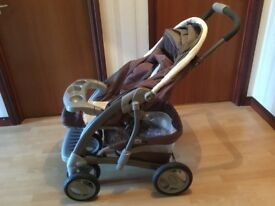 Pram / Car Seat - Graco Deluxe Travel System Excellent Condition