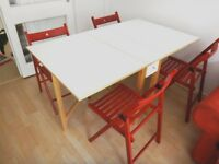 Dinner Table/Foldable/chairs/set/table/expandable/dining table