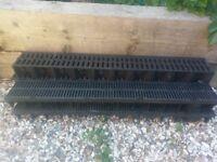 1 metre Storm drain channels Five in all