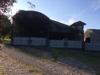 2800sqft Storage barn