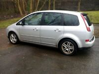 ford focus cmax, turbo diesel,07 registration